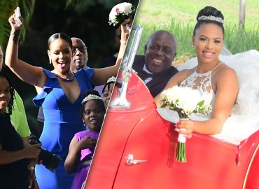 Rihanna Bridesmaid Barbados Sonita Alexander Wedding