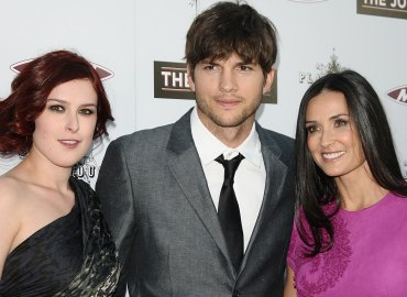 Ashton kutcher rumer willis demi moore mila kunis house