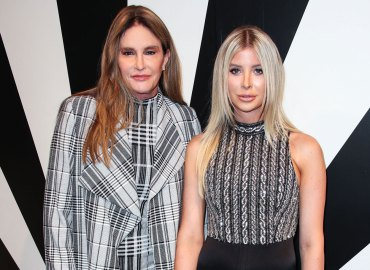 Caitlyn Jenner girlfriend Sophia Hutchins NYFW Love