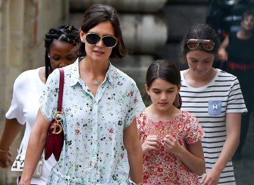 Katie Holmes custody Suri Scientology Tom Cruise Leah Remini