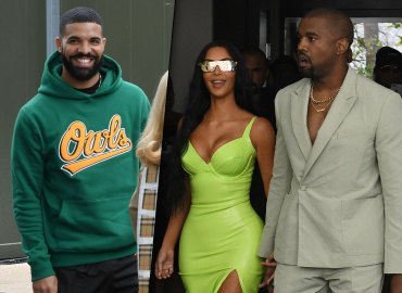 Kim Kardashian Drake Kanye West Love Triangle