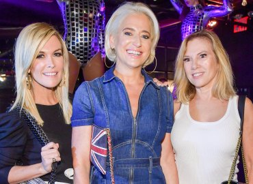 RHONY Ramona Singer Dorinda Medley Tinsley Mortimer party