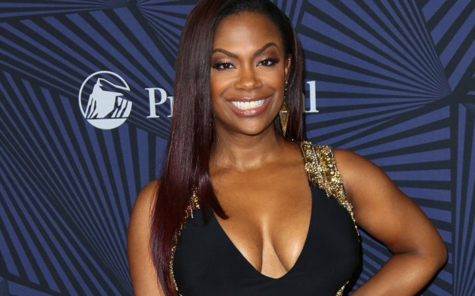 Kandi Burruss pregnant dungeon party lingerie sexy RHOA