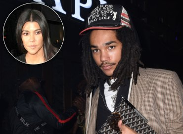 Luka Sabbat Kourtney Kardashian Party Drake Kanye Kim Feud
