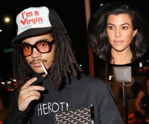 Luka Sabbat Virgin Hat Kourtney Kardashian Dating Rumors Drake Feud