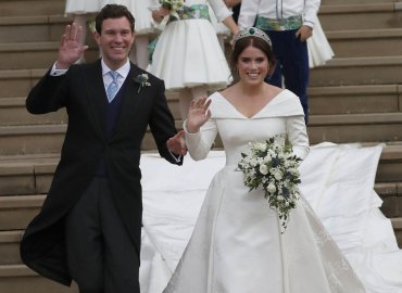 Princess Eugenie wedding celebrities Jack Brooksbanks Windsor