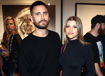 Scott Disick Sofia Richie dating still holding hands PDA Kourtney Kardashian