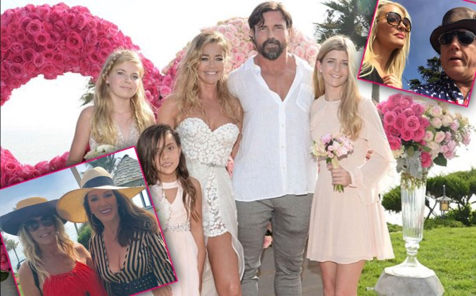 Denise Richards Malibu Wedding Csnaps
