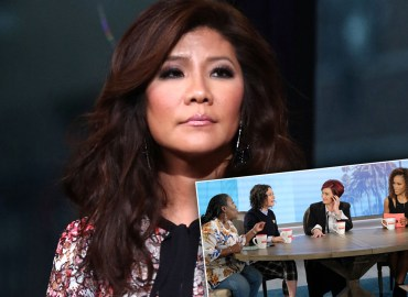 Julie chen former the talk cohosts pp star