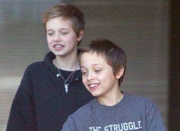 Brad pitt angelina jolie kids manny custody battle