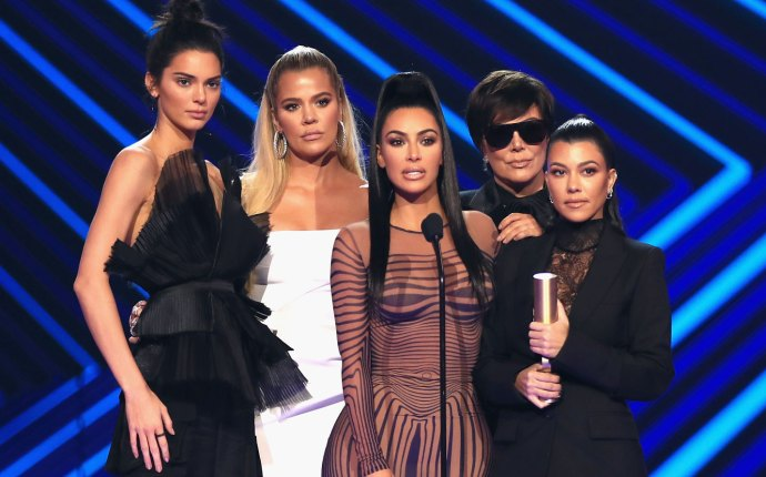 People's Choice Awards 2018 Red Carpet Winners Kardashians KUWTK VPR