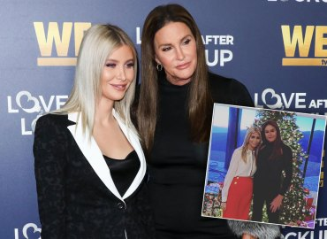 Caitlyn Jenner Sophia Hutchins Christmas party