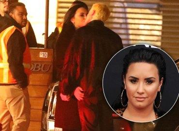 Demi lovato boyfriend henri levy kissing pics sober rehab