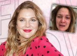Drew barrymore instagram crying selfie divorce kids
