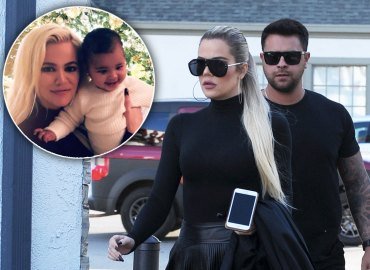 Khloe kardashian cuddles true christmas baby number 2