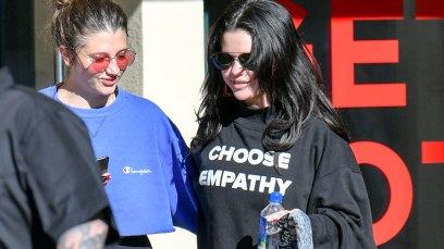 Selena gomez rehab haters empathy sweatshirt pics
