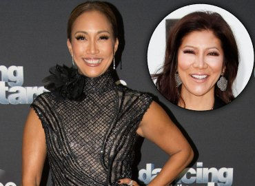 Julie chen replaced carrie ann inaba the talk