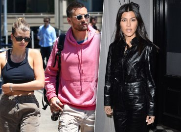 Kourtney Kardashian Reaction Scott Disick Sofia Richie Engagement
