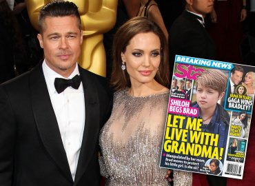 Shiloh jolie pitt brad angelina custody grandparents