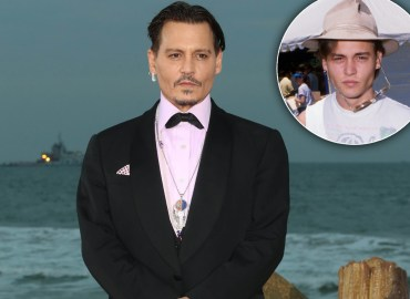 Johnny Depp Broke Delinquent Streak Before Fame STAR pp