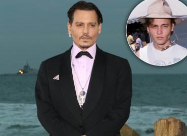 Johnny Depp Broke Delinquent Streak Before Fame STAR pp