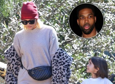 Khloe kardashian church kanye west tristan thompson cheating