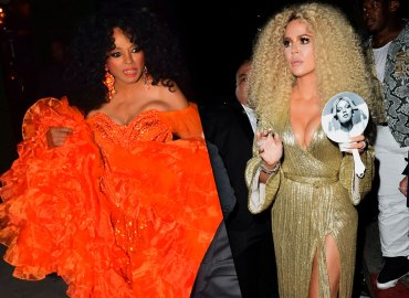 Diana ross birthday party photos beyonce khloe kardashian wig kourtney