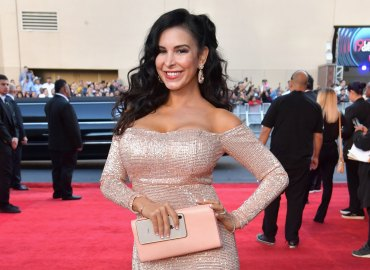 Mayra Veronica gold dress Grammy Awards