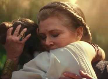 Star wars episode ix trailer carrie fisher footage video