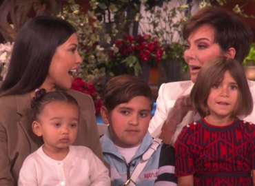 Kris jenner kim kardashian surrogate in labor ellen degeneres video