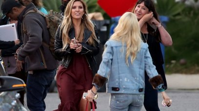 Heidi pratt audrina patridge the hills new beginnings filming