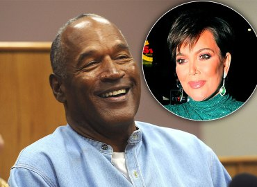 OJ Simpson smiling at parole hearing / Kris Jenner smiling