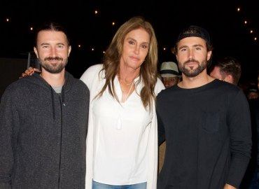 Brody, Brandon and Caitlyn Jenner