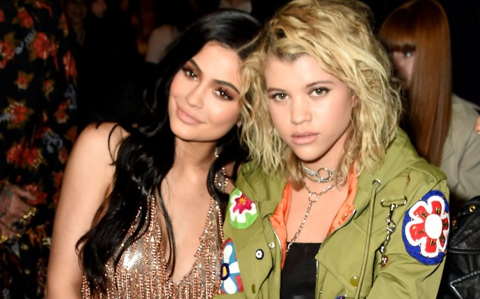 Sofia Richie and Kylie Jenner