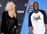 Christie Brinkley and Lamar Odom