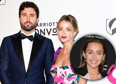 Brody Jenner and Kaitlynn Carter Jenner and Miley Cyrus