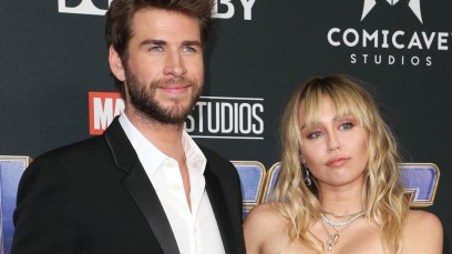 -PICTURED: Miley Cyrus, Liam Hemsworth