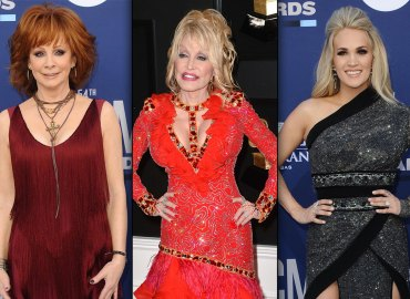 Reba McEntire, Dolly Parton and Carrie Underwood