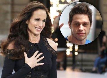Andie MacDowell and Pete Davidson