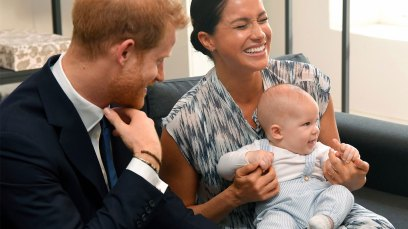 Meghan Markle, Prince Harry and baby Archie