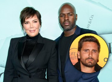 Kris Jenner, Corey Gamble and Scott Disick