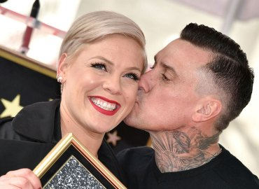 -PICTURED: Pink and Carey Hart