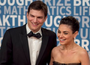 -PICTURED: Mila Kunis and Ashton Kutcher