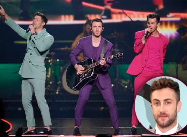 Jonas Brothers Surprise Tourmate Jordan McGraw With Birthday Cake