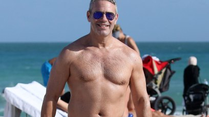 Andy Cohen shirtless