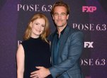 -PICTURED: Kimberly Van Der Beek, James Van Der Beek