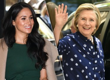 Hilary Clinton and Meghan Markle
