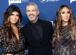 Teresa Giudice, Andy Cohen and Melissa Gorga