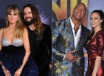 Heidi Klum, Tom Kaulitz and Dwayne Johnson, Lauren Hashian