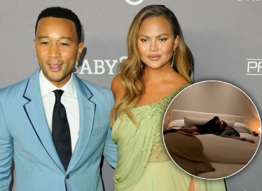 -PICTURED: Chrissy Teigen, John Legend